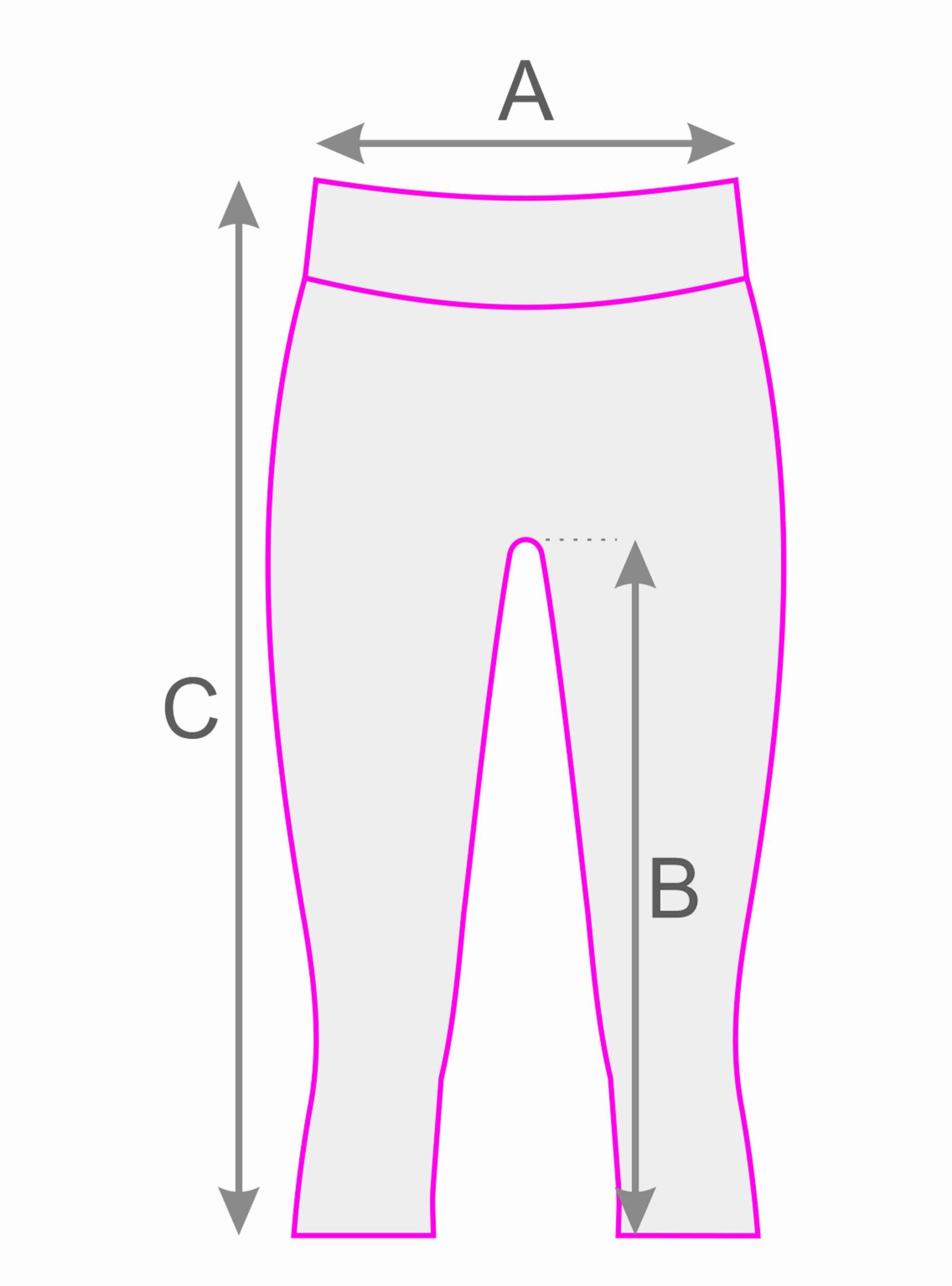tab. 3,4 kalhoty